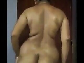 Fat Indian Showing Off Her Body